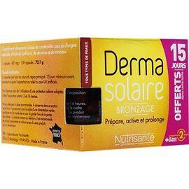 Nutrisante derma solaire bronzage 150 capsules - nutrisanté -220790