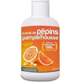 Nutrisante extrait de pépins de pamplemousse - 200ml - nutrisanté -148092