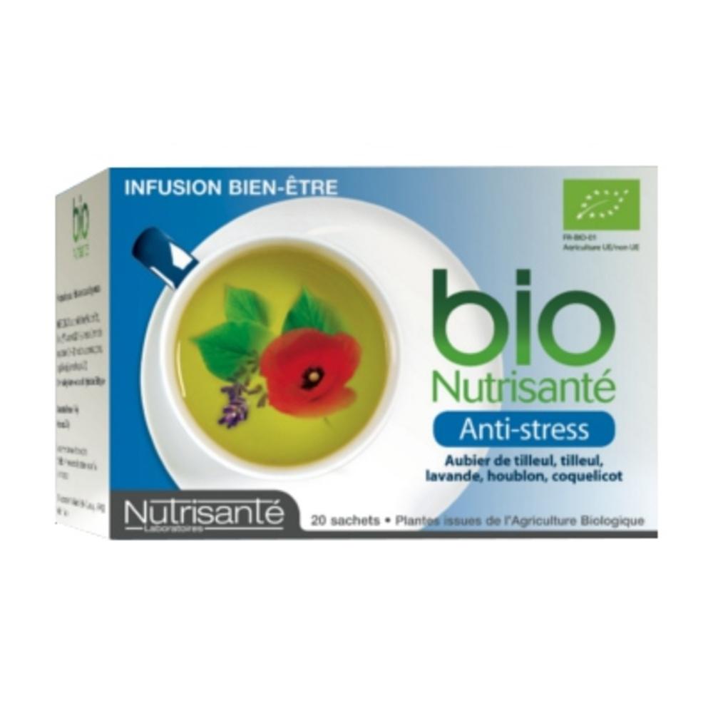 Nutrisante infusion bio antistress - nutrisanté -197258