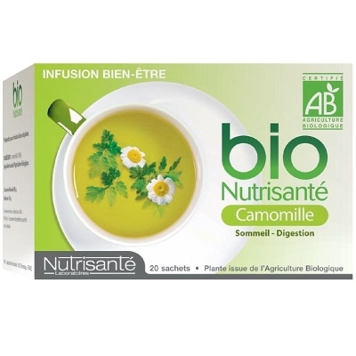 Nutrisante infusion bio camomille Nutrisanté-194777