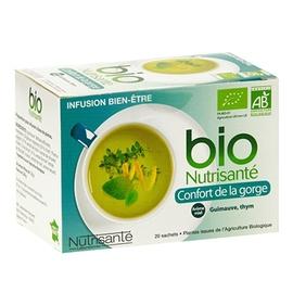 Nutrisante infusion bio confort de la gorge - nutrisanté -201685