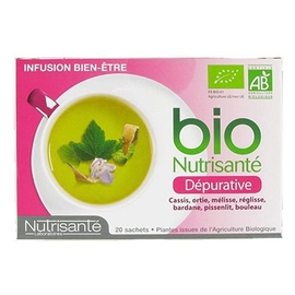 Nutrisante infusion bio dépurative - nutrisanté -194757