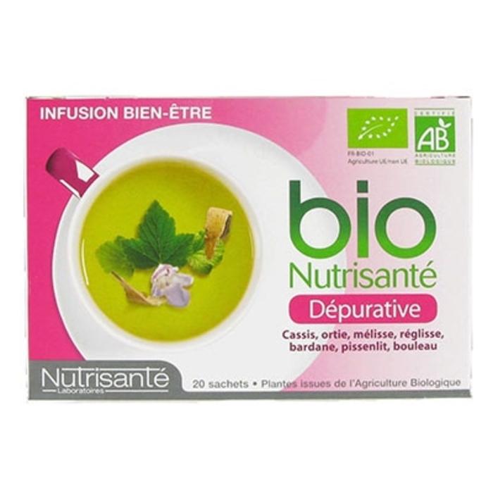Nutrisante infusion bio dépurative Nutrisanté-194757