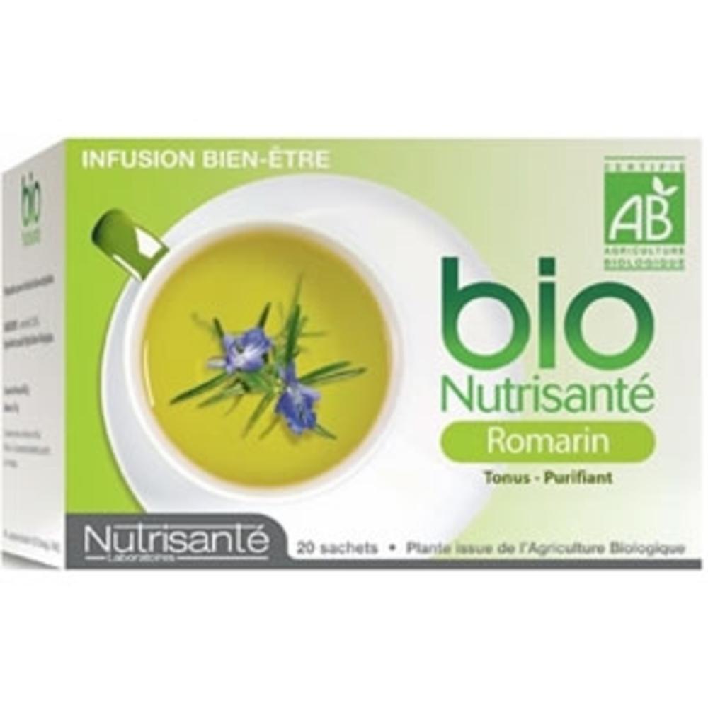Nutrisante infusion bio romarin - nutrisanté -196286