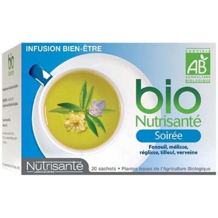 Nutrisante infusion bio soirée Nutrisanté-194778