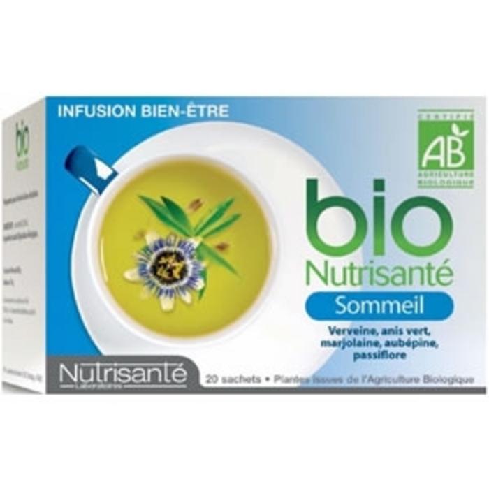 Nutrisante infusion bio sommeil 20 sachets Nutrisanté-196287