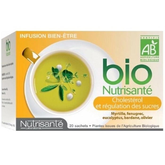 Nutrisante infusion bio taux de sucre Nutrisanté-194764