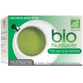 Nutrisante infusion bio thé vert à la menthe - nutrisanté -194773