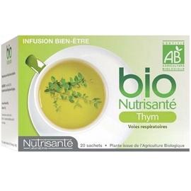 Nutrisante infusion bio thym 20 sachets - nutrisanté -194765