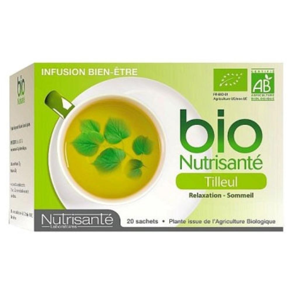 Nutrisante infusion bio tilleul Nutrisanté-203733