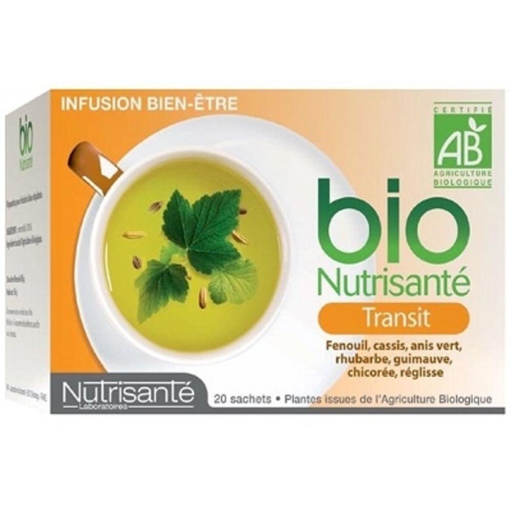 Nutrisante infusion bio transit - nutrisanté -194761