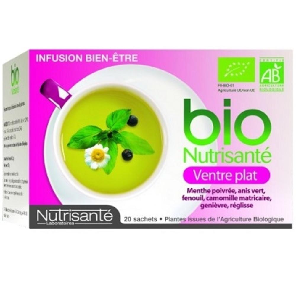 Nutrisante infusion bio ventre plat - nutrisanté -194766
