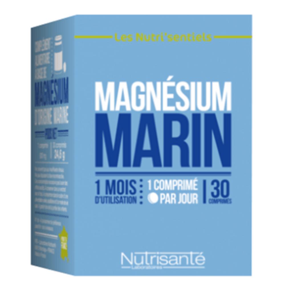 Nutrisante magnésium marin 30 comprimés Nutrisanté-219599