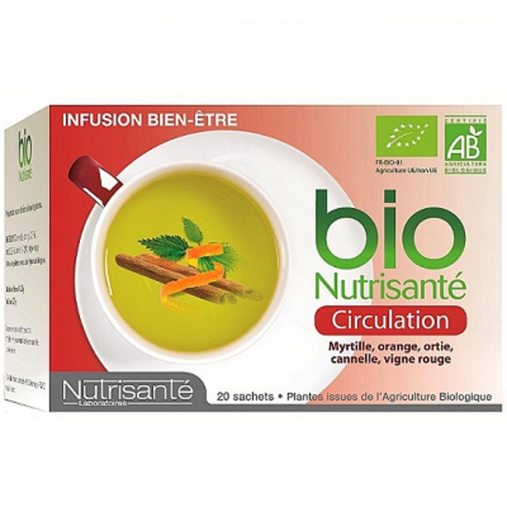 Nutrisante tisane bio circulation - nutrisanté -194770