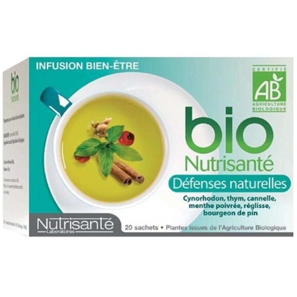 Nutrisante tisane bio defenses naturelles - nutrisanté -194763