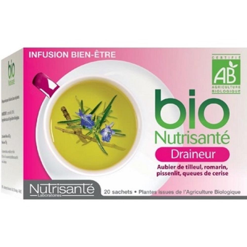 Nutrisante tisane bio draineur - nutrisanté -194762