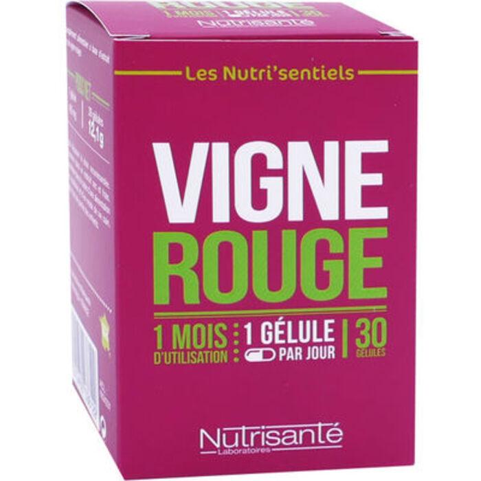 Nutrisante vigne rouge 30 gélules Nutrisanté-219605