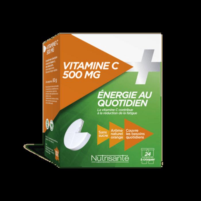 Nutrisante vitamine c 500mg 24 comprimés à croquer Nutrisanté-196151