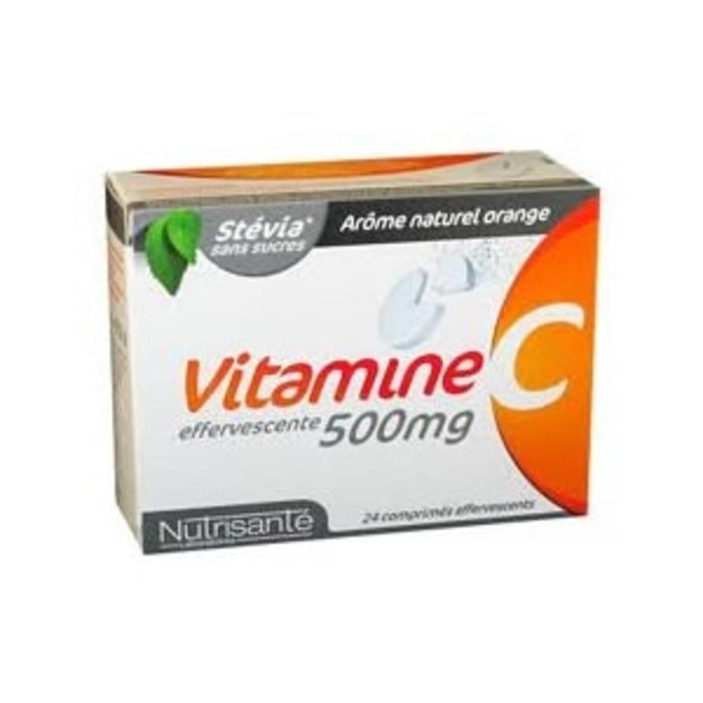 Nutrisante vitamine c 500mg 24 comprimés effervescents Nutrisanté-196152