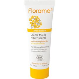 Nutrition crème mains nourrissante bio 50ml - florame -225625