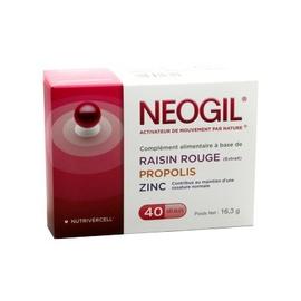 Nutrivercell neogil - 40 gélules - nutrivercell -203035