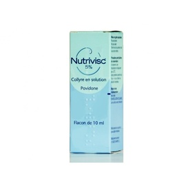 Nutrivisc 5% collyre - 10.0 ml - laboratoires alcon -192189
