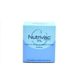 Nutrivisc 5% collyre - 30 unidoses - laboratoires alcon -192270
