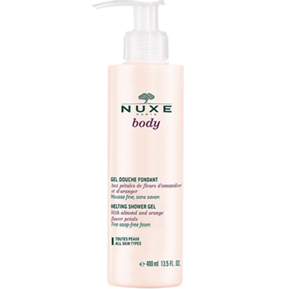 Nuxe body gel douche fondant 400ml - nuxe -213291