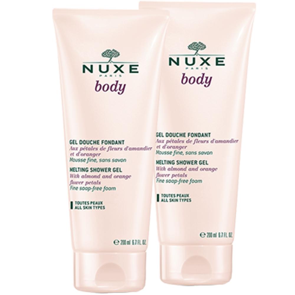 Nuxe body gel douche fondant - lot de 2 - nuxe body -198960