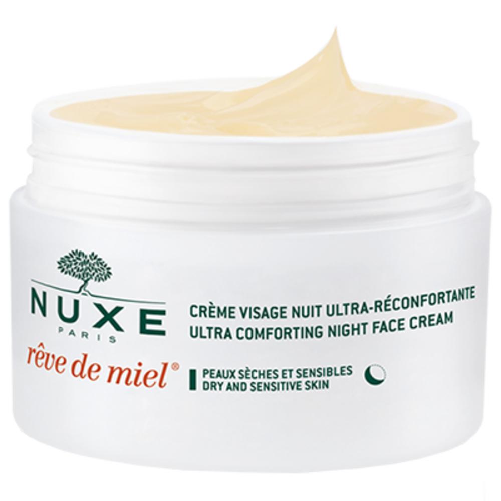 Nuxe crème visage rêve de miel ultra-réconfortante nuit - 50.0 ml - nuxe -114814
