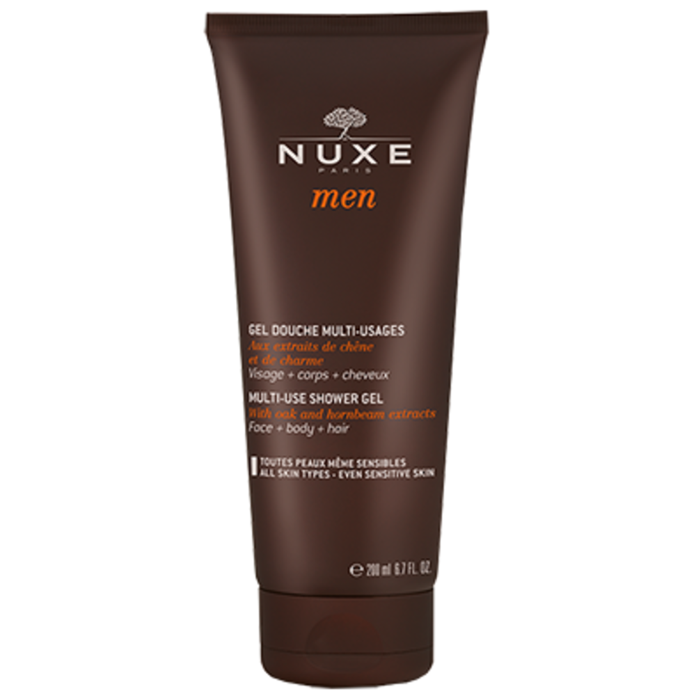 Nuxe men gel douche multi-fonctions - 200.0 ml - nuxe -127078