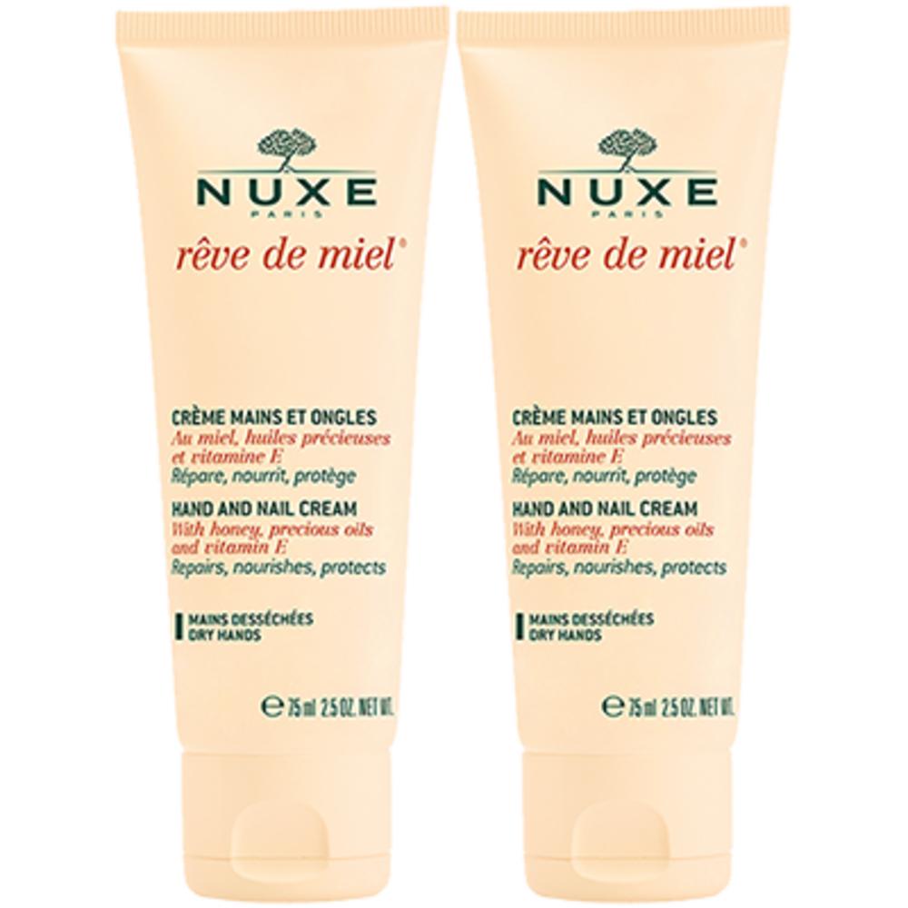 Nuxe rêve de miel crème mains et ongles - 2 x 50ml - nuxe -205836