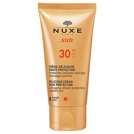 Nuxe sun crème délicieuse visage spf30 - 50.0 ml - nuxe -145065