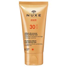 Nuxe sun crème délicieuse visage spf30 50ml - 50.0 ml - nuxe -145065