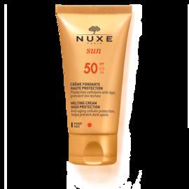 Nuxe sun crème fondante visage spf50 50ml - nuxe -144475