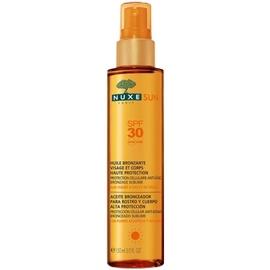 Nuxe sun huile bronzante visage et corps spf30 - nuxe -144476
