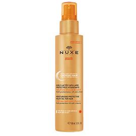 Nuxe sun huile lactée capillaire 100ml - nuxe -149822