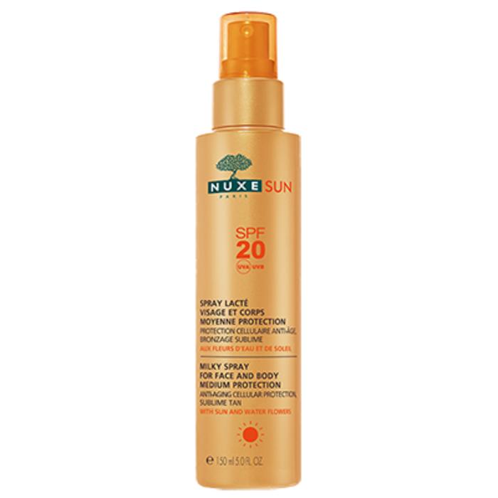 Nuxe sun spray lacté visage et corps spf20 150ml Nuxe-145064