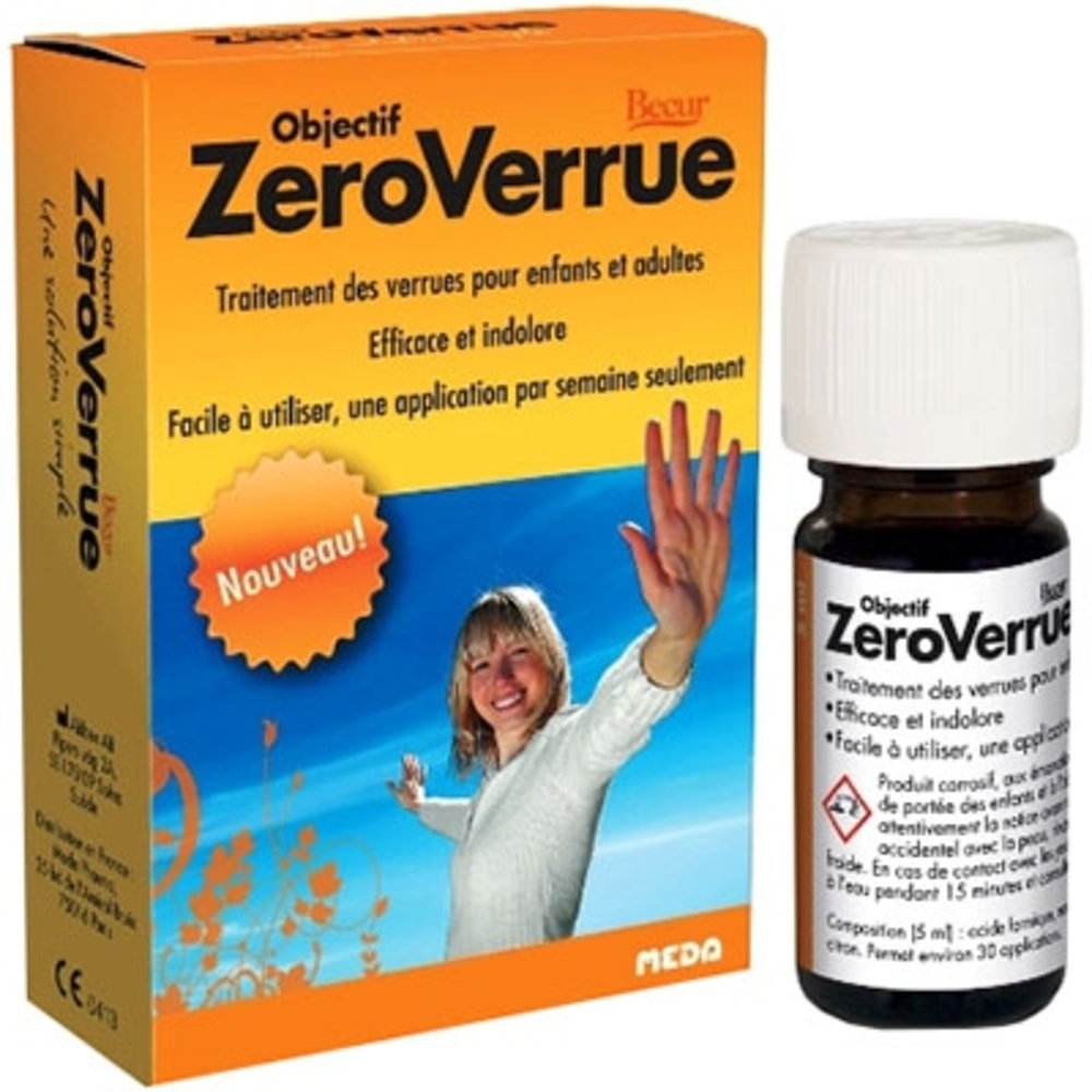 Objectif zeroverrue - 5.0 ml - meda pharma -144816