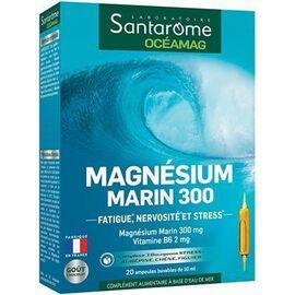 Oceamag magnésium marin 300 20 ampoules - santarome -222856