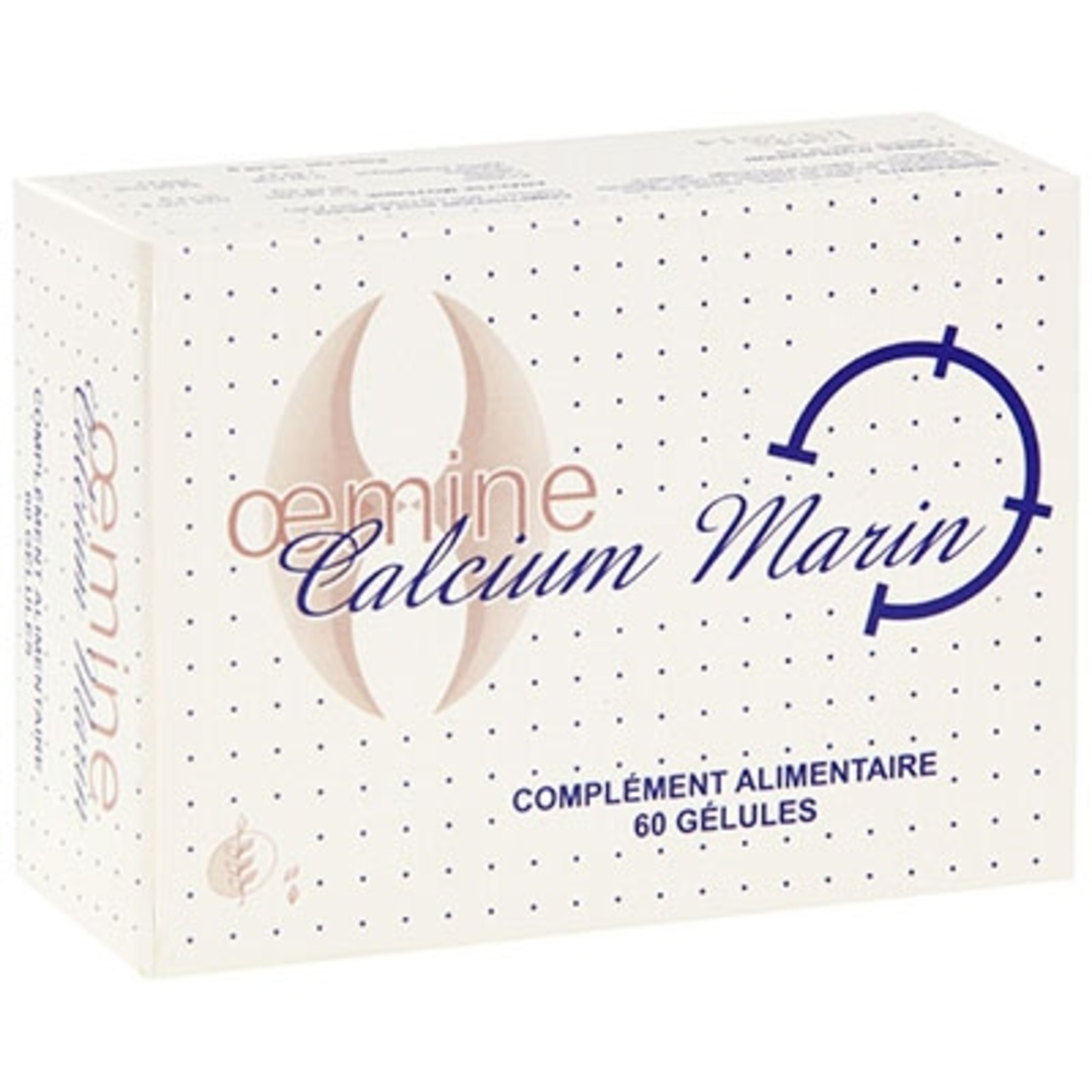 Oemine calcium marin - 60 gélules - divers - oemine -140140