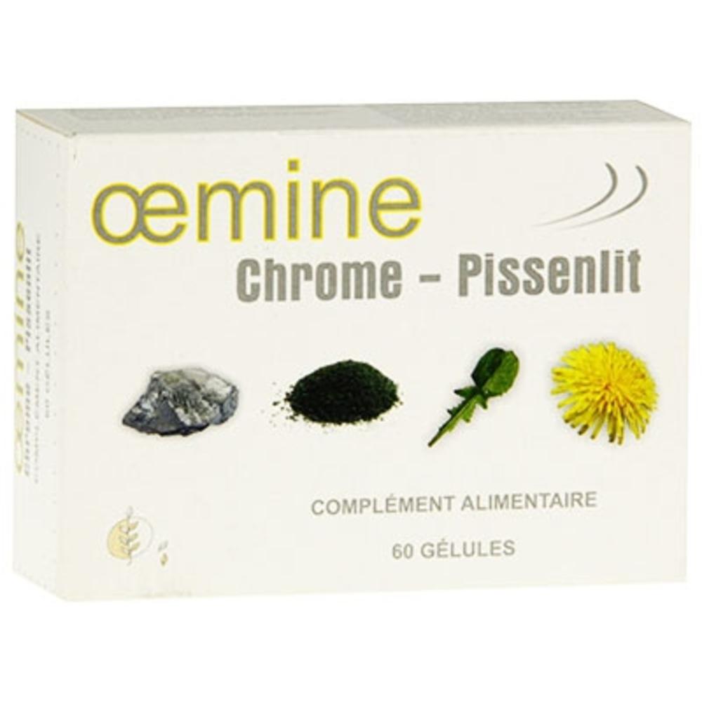 Oemine chrome pissenlit - 60 gélules - divers - oemine -140135