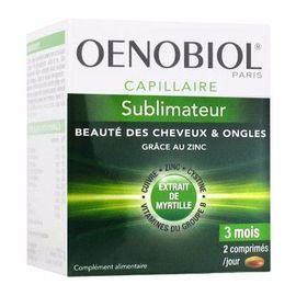 Oenobiol capillaire sublimateur 180 comprimés - oenobiol -215345