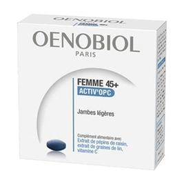 Oenobiol femme 45+ activ'opc - 30.0 unites - femme 45+ - oenobiol Jambes légères-139319