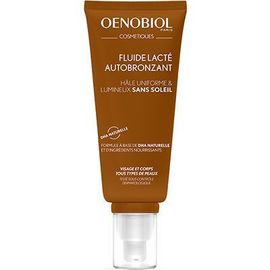 Oenobiol fluide lacté autobronzant 100ml - oenobiol -224351