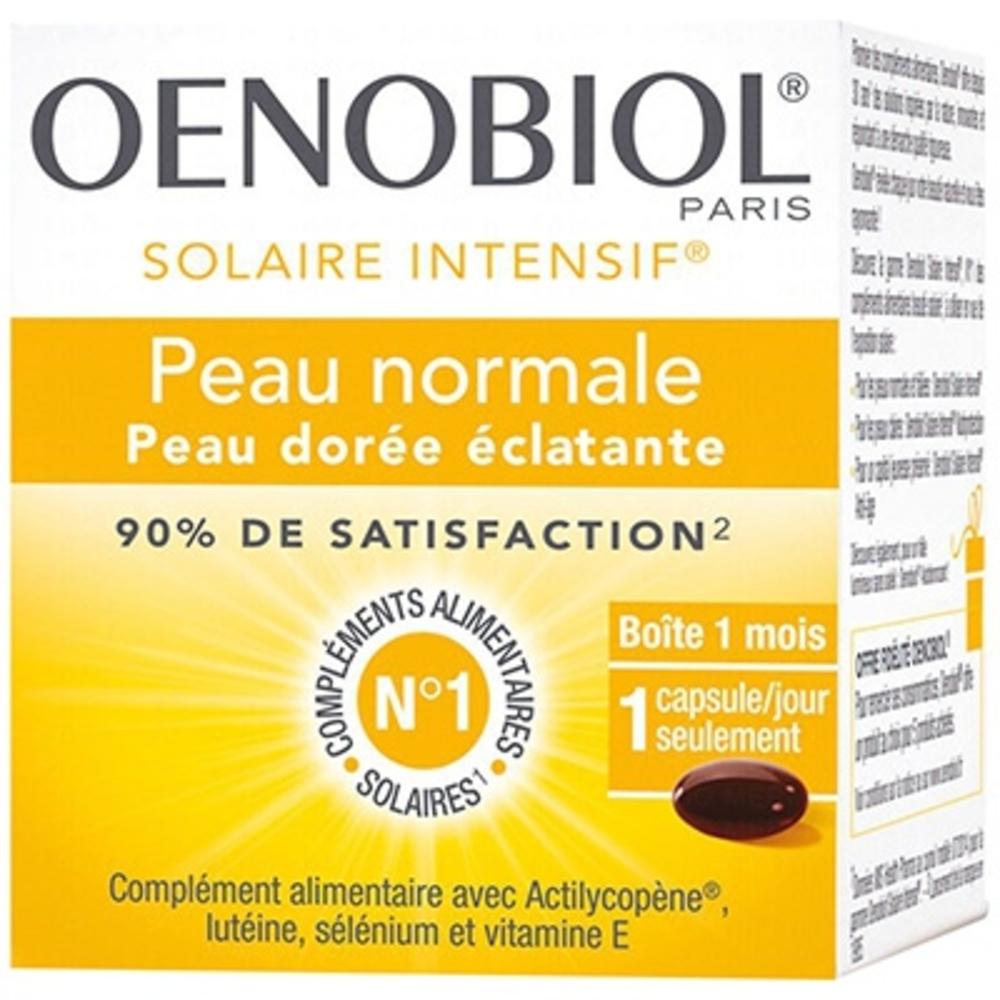 OENOBIOL Solaire Intensif - 30 capsules - 30.0 unites - Solaire - Oenobiol Peaux normales et halées-191