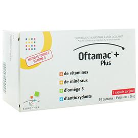 Oftamac + plus 30 capsules - europhta -214174