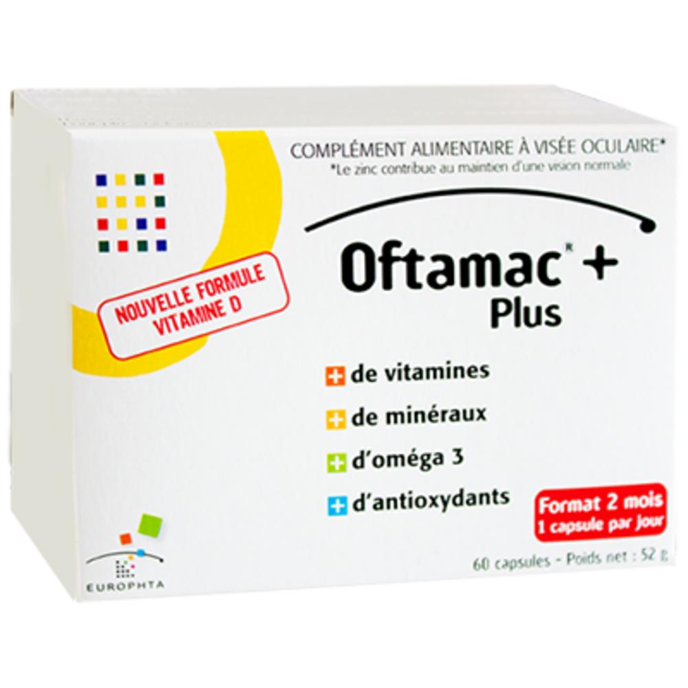 Oftamac + plus 60 capsules - europhta -214175