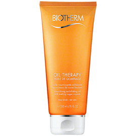 Oil therapy huile de gommage - 200ml - baume nutrition - biotherm -205506