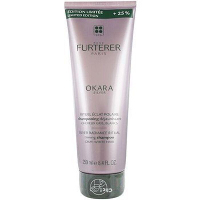 Okara silver shampooing déjaunissant 250ml Furterer-227616